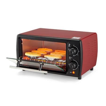 荣事达电烤箱家庭用小烤箱RK-10T嵌入式电烤炉 上下层独立控温烘焙箱 电烤箱