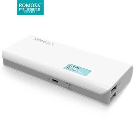 罗马仕(ROMOSS) 移动电源/充电宝 sense4 plus 10400毫安 LCD显示屏