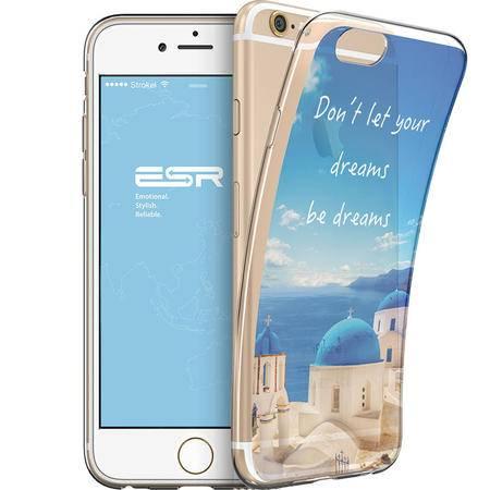 亿色(ESR) 行者寄语系列手机壳/透明风景保护套/手机软壳 适用于iPhon 5.5英寸 梦想靠岸