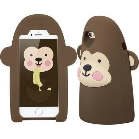 ESR亿色 iphone6/6s手机壳 硅胶创意卡通4.7寸防摔苹果支架套日韩 萌仔学院-萌仔姆奇