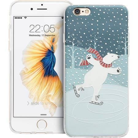 ESR亿色 iPhone6手机壳 苹果6s超薄硅胶套韩国可爱卡通浮雕软壳 缤纷奇趣-溜溜熊