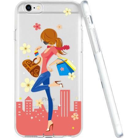 ESR亿色苹果iphone6s plus 透明简约软手机壳软摩登女士 4.7/5.5