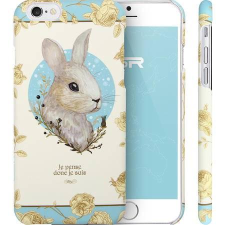 ESR亿色苹果iphone6s plus手机壳卡通创意硬壳爱丽丝小兔 4.7/5.5