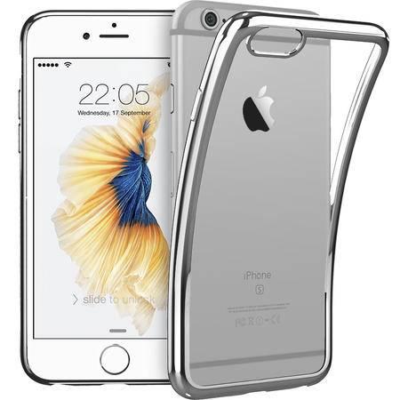 ESR亿色 iPhone6手机壳硅胶 苹果6s超薄透明保护套软壳 初色晶耀-流星银