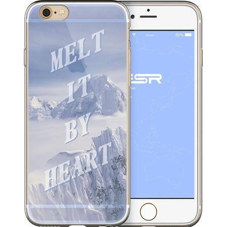 亿色ESR行者寄语 苹果手机壳透明风景iPhone6s软壳 4.7-心融冰释