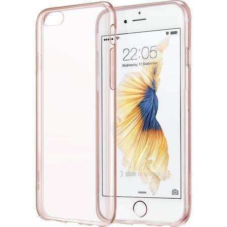 ESR亿色iphone6s plus手机壳硅胶软透明苹果保护套5.5 初色原护-俏丽粉