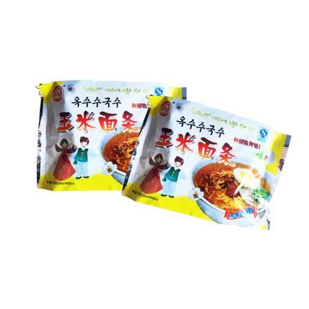 【延边馆】【吉林特产】 洪峰玉米冷面 200克/包*2包