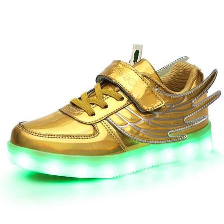 童鞋运动鞋2016新款男童女童休闲鞋灯鞋外贸单儿童发光鞋厂家直销