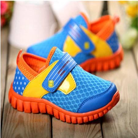 童鞋2016夏新款儿童运动鞋透气鞋男童女童单网鞋