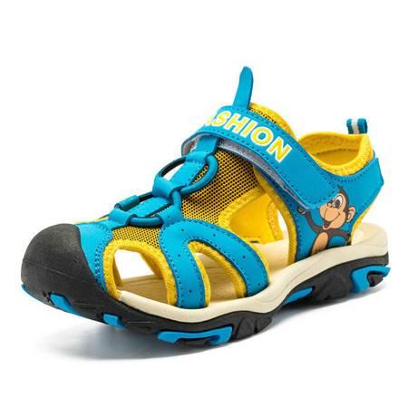 夏季童鞋凉鞋男童女童韩版儿童凉鞋沙滩鞋休闲鞋
