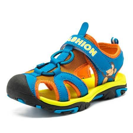 童鞋凉鞋2016夏季新款男女童沙滩鞋包头凉鞋