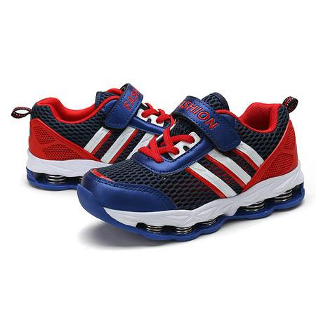 童鞋2016春韩版品牌男童运动鞋弹簧鞋外贸原单运动鞋厂家直销代发