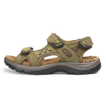 2016夏季新款凉鞋沙滩鞋 户外休闲鞋 防滑露趾凉拖鞋