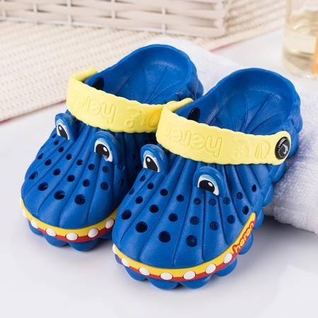 恒人2016童鞋夏季男童女童凉鞋沙滩鞋洞洞鞋外贸原单儿童凉鞋厂家直销