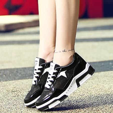 2016年夏季单鞋时尚休闲鞋女网面情侣鞋韩版气垫鞋女学生运动鞋透气旅游鞋
