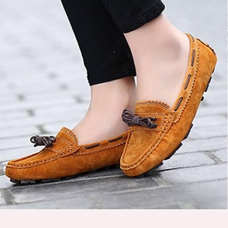女鞋2016春季蝴蝶结单鞋豆豆鞋平底妈妈鞋浅口护士鞋工作鞋