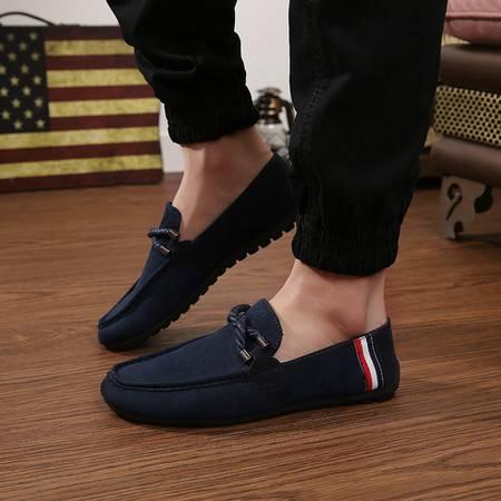 2016新款男士休闲鞋豆豆鞋男英伦懒人鞋韩版潮流驾车鞋男鞋子豆豆鞋