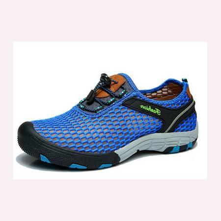 休闲男鞋网鞋男士夏季透气网布鞋飞织凉鞋男跑步鞋男板鞋户外鞋
