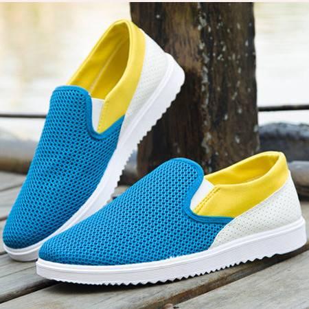 休闲鞋男士夏季网布鞋韩版潮流透气鞋运动鞋
