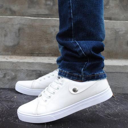 休闲鞋 男士夏季男鞋休闲布鞋男款板鞋 小白鞋男2016新款潮流鞋子