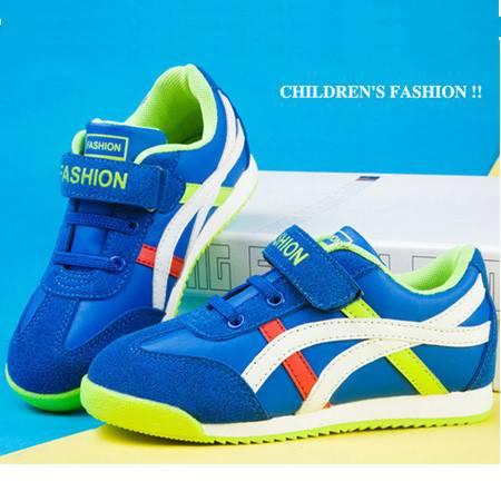 童鞋新款2016男童运动鞋跑步鞋女童休闲鞋外贸原单童鞋厂家直销