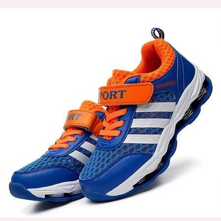 童鞋运动鞋夏季2016男童网鞋弹簧鞋韩国外贸原单跑步鞋厂家直销