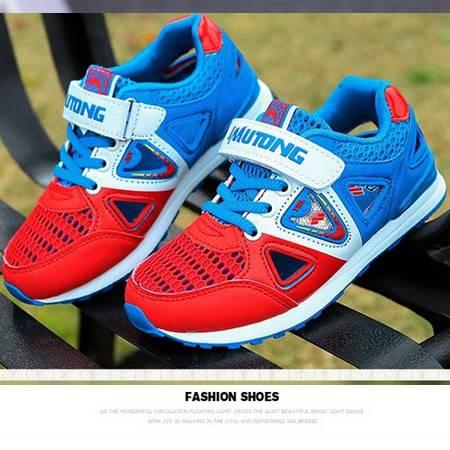 2016童鞋夏季网鞋凉鞋男童运动鞋跑步鞋韩国外贸原单女童厂家直销