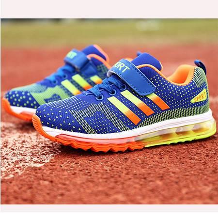 童鞋2016新款男童运动鞋女童跑步鞋气垫鞋外贸原单厂家直销代发