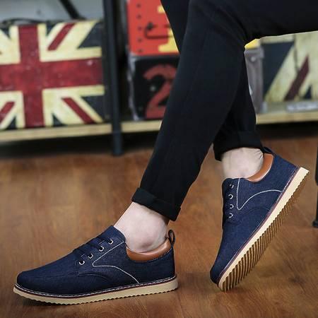 夏季男士帆布鞋透气布鞋韩版休闲低帮平底板鞋运动学生潮鞋男鞋子