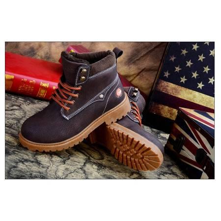 儿童马丁靴真皮新款女童靴子男童皮鞋皮靴春秋单靴童靴短靴雪地靴