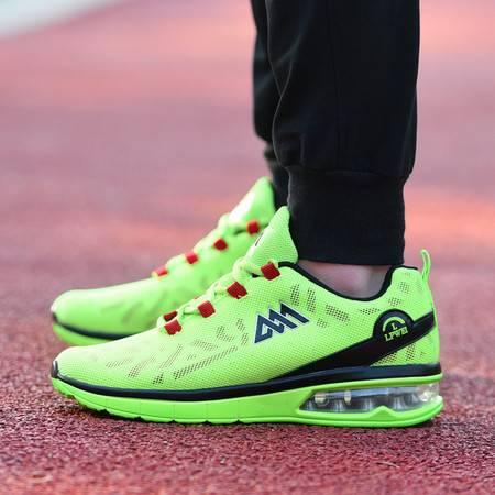全掌气垫跑步鞋男夏季透气网面运动鞋男士休闲跑鞋男鞋