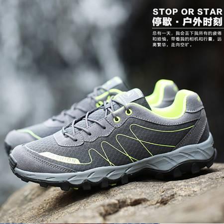 户外徒步鞋春季男女防滑户外鞋登山鞋