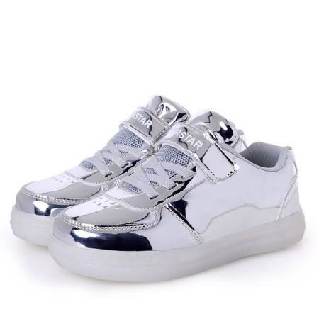 运动鞋男童鞋春秋款高帮女童鞋休闲跑步鞋韩版潮