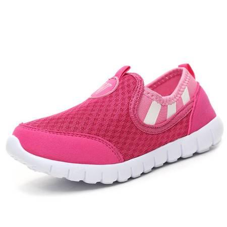 男女童鞋儿童运动鞋网面春秋透气网鞋夏季