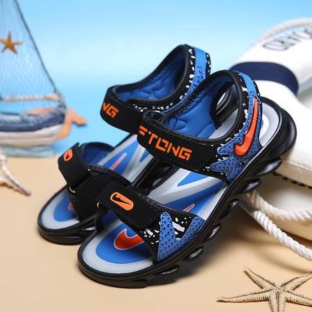 2016夏季新款大童男童涼鞋儿童沙滩鞋