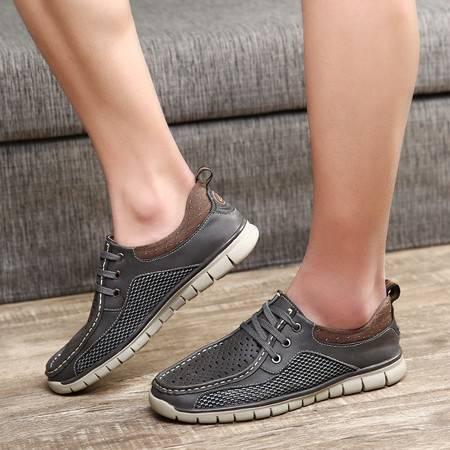 夏季男鞋网鞋运动鞋男士休闲鞋男板鞋网布透气网面鞋跑步潮鞋子男