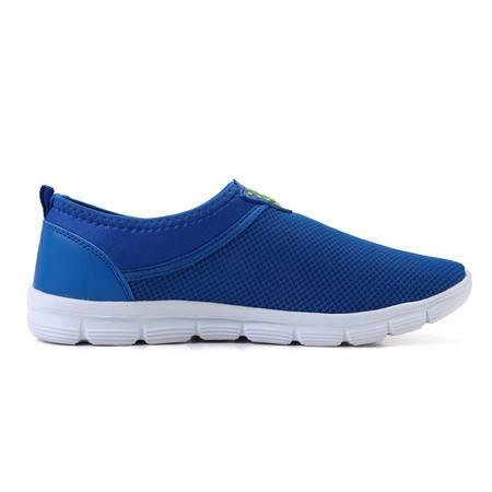  网鞋登山鞋透气运动鞋一脚蹬