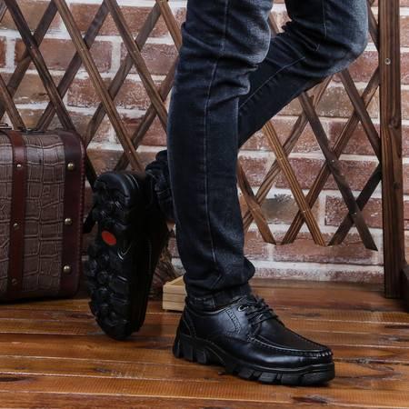 新款2016休闲鞋低帮工装鞋大头皮鞋英伦马丁鞋时尚男鞋男士潮流鞋