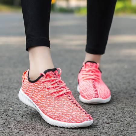 春夏韩版运动休闲鞋学生鞋男女慢跑跑步鞋子潮