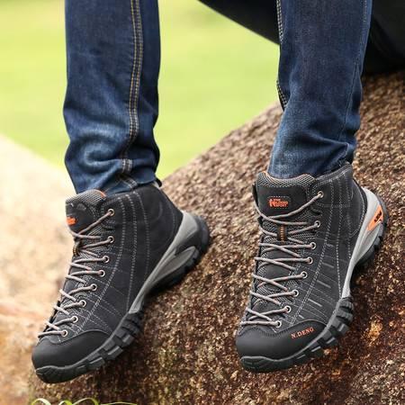 户外登山鞋 高帮防水透气徒步鞋