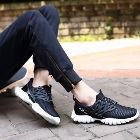 男鞋正品运动鞋男跑步鞋夏季透气轻便减震男士网面休闲鞋跑鞋