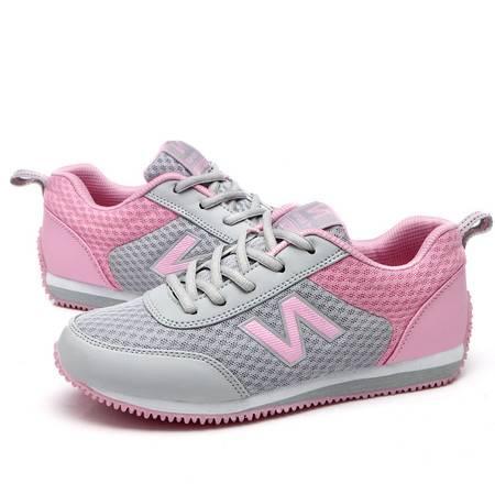 夏季单鞋 透气网布休闲鞋子女 舒适豆豆鞋