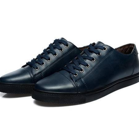 2016夏季新款男鞋韩版男士休闲鞋内增高6cm真皮商务皮鞋青年板鞋