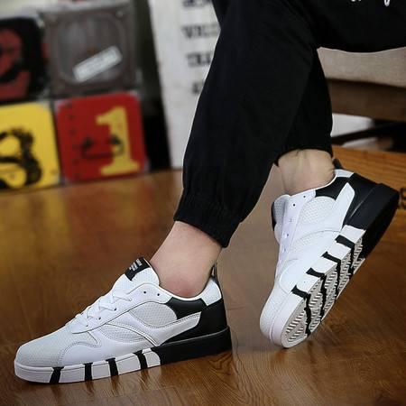 韩版超轻便运动鞋透气网鞋男士休闲鞋男鞋子夏季旅游鞋男