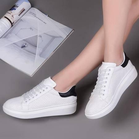 2016夏季透气网鞋女鞋韩版低帮运动帆布鞋女休闲鞋学生系带跑步鞋