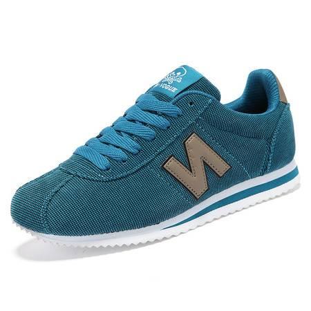 品牌N字潮鞋耐磨透气跑步休闲鞋运动网面鞋