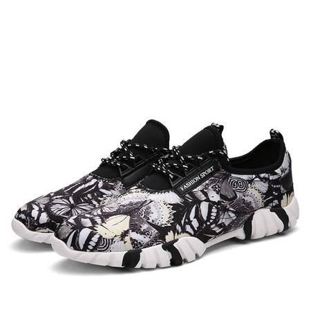 夏季板鞋韩版帆布鞋男鞋亚麻透气老北京布鞋子男士系带休闲鞋单鞋