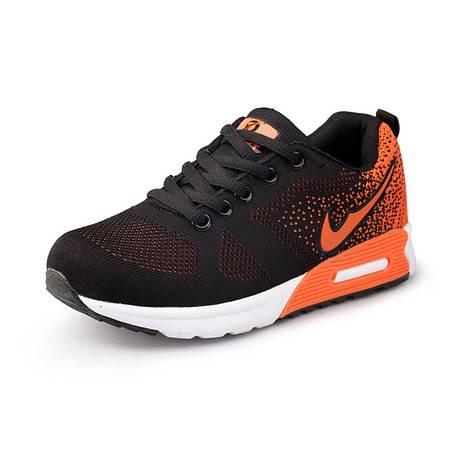 领舞者夏季气垫运动鞋女潮鞋 减震透气网面跑步鞋女子显瘦慢跑鞋