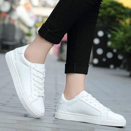 韩版潮流透气休闲情侣款高低帮男女板鞋春