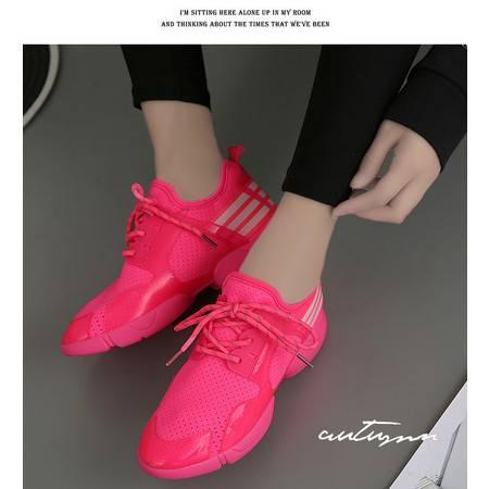 女鞋跑步鞋2016夏季透气网鞋轻便时尚运动鞋旅游鞋女子跑鞋